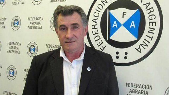 Carlso Achetoni, presidente de Federación Agraria Argentina.