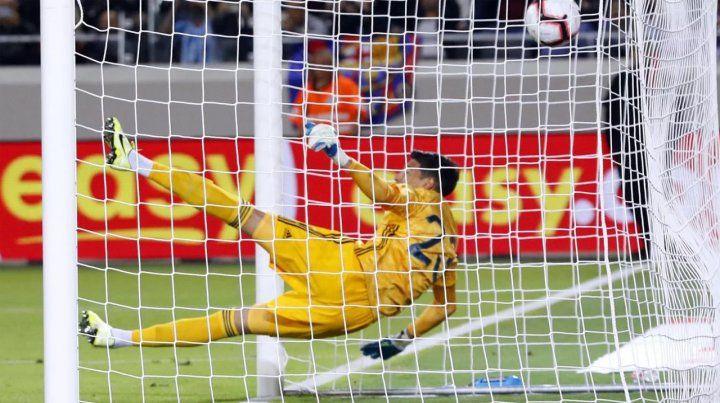 ¿Andrada se comió el segundo gol?