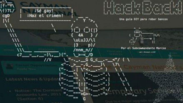 Hackearon el banco de las Islas Caimán y filtraron datos