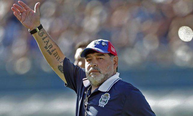 Maradona y su salida de Gimnasia: Tomé la decisión con todo el dolor del alma