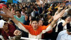 devoción. Una celebración evangélica, que en 10 años pasó de un grado de adhesión del 9 al 15%.