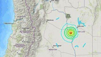 Un sismo en Mendoza se sintió fuerte en Rosario
