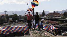 bloqueo. Los masistas mantienen férreos cortes de ruta en La Paz.