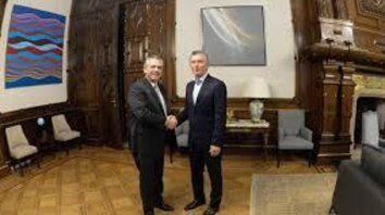 Sin debate. Macri y Fernández acordaron sobre el traspaso.