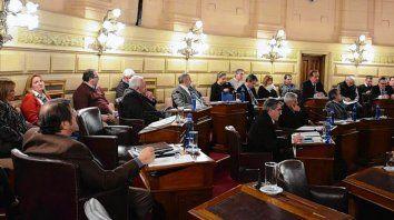 Cámara alta. La proyección de gastos ya está en el Senado santafesino.