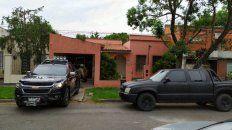 La Tropa de Operaciones Especiales (TOE) allanó la casa de los padres del abogadoClaudio Tavella.