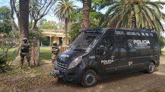 El campo del abogado Claudio Tavella, en Coronel Bogado, fue allanado esta mañana.