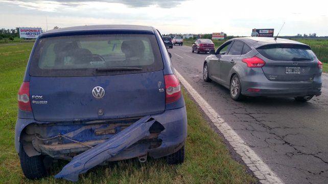 Espectacular vuelco y un choque complicaron el tránsito en la autopista a Córdoba
