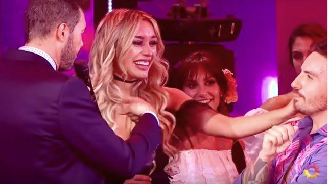 La nueva novia de Fede Bal viajó desde Uruguay para verlo bailar