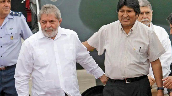Lula: mi amigo Evo cometió un error al buscar su cuarto mandato