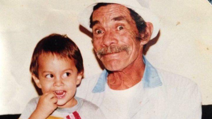 El nieto de Don Ramón publicó una foto inédita del Chavo