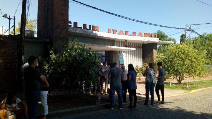 Las elecciones se llevaron a cabo en la sede que el Club Italiano tiene en barrio Alberdi