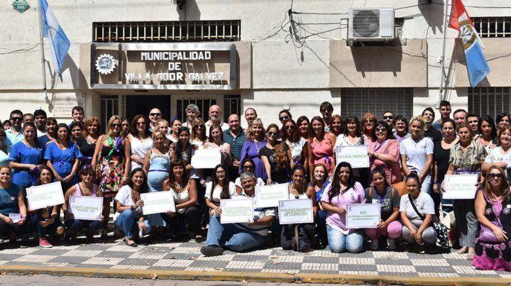 Sin violencia. Los trabajadores municipales deberán capacitarse para garantizar derechos a las mujeres.
