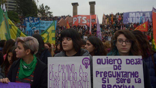 movilizadas. Las mujeres vienen poniendo en el centro de la escena el avance de la violencia de género.