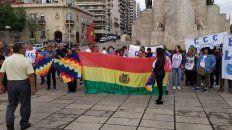 Concejales y organizaciones sociales participaron del acto que se realizó esta mañana en el Monumento.