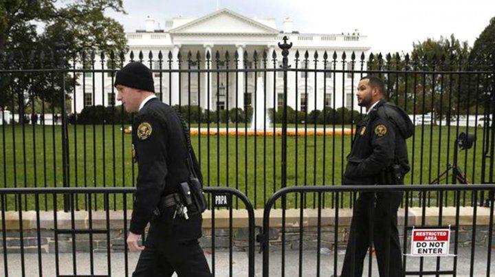 Cerraron la Casa Blanca y el Capitolio por un alerta aéreo