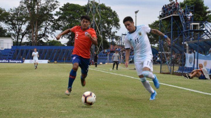 Argentina Sub 15 debutó con goleada