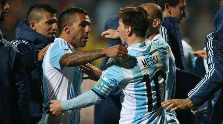 Messi y Tevez forjaron amistad en la selección argentina.