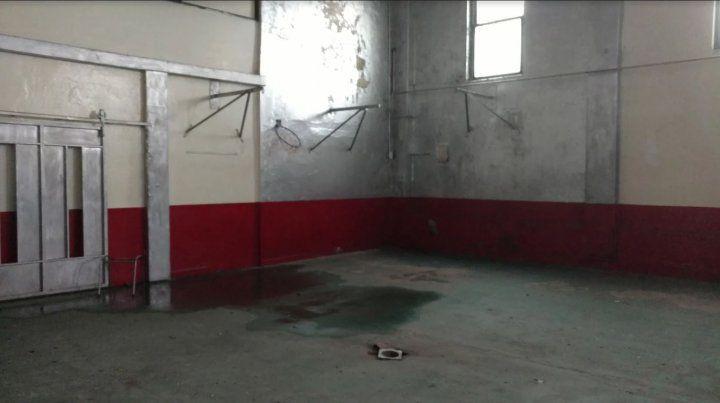 Los dirigentes denuncian que encontraron al Club Italiano en estado de abandono