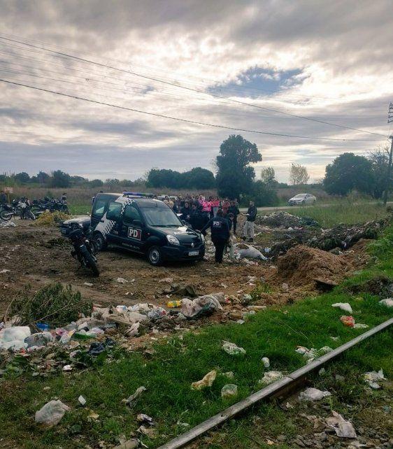 La zona rural donde fue hallado el cadáver de la mujer. (Foto: @JoseljuarezJOSE)