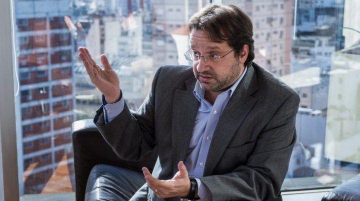 Pronósticos. Lavagna salió a realizar declaraciones cuando Alberto Fernández confirmó su designación.