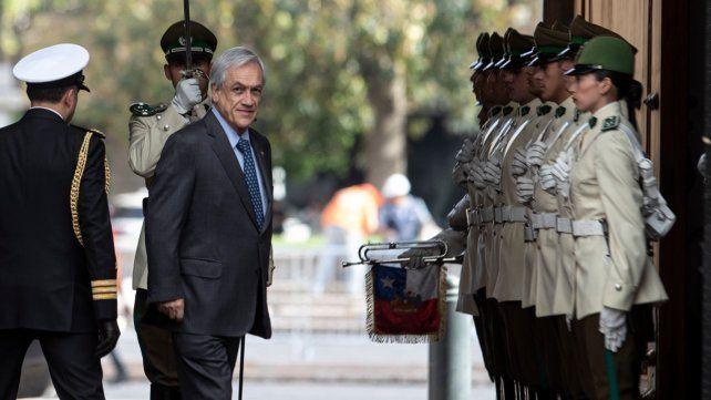Piñera se hartó: Llegó el momento de decir basta