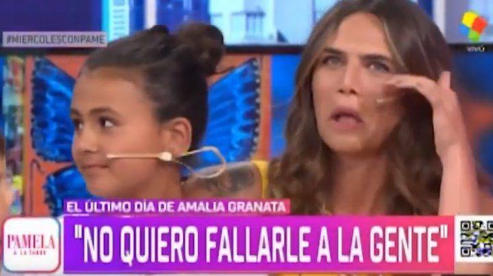 Amalia Granata se despidió de la televisión y se instala en Rosario