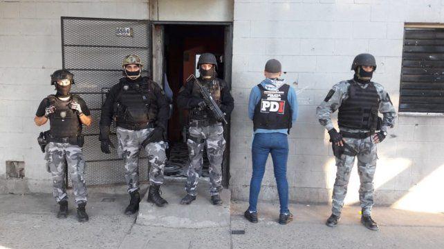 Seis detenidos en un amplio operativo antidroga de la PDI