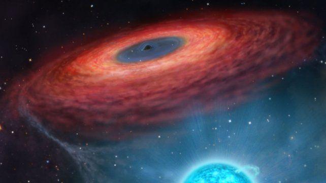 Elaboran una nueva teoría para explicar el brillo de los agujeros negros