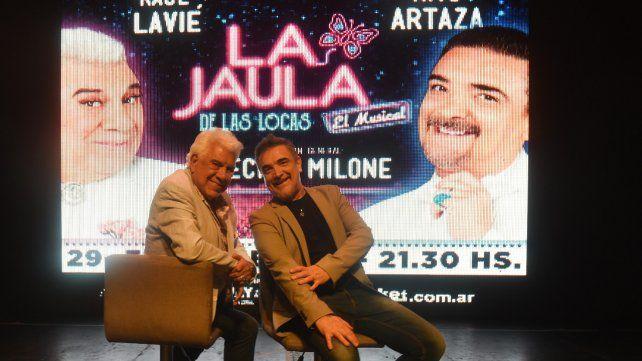 Equipo. Lavié y Artaza interpretan a Renato y Albin
