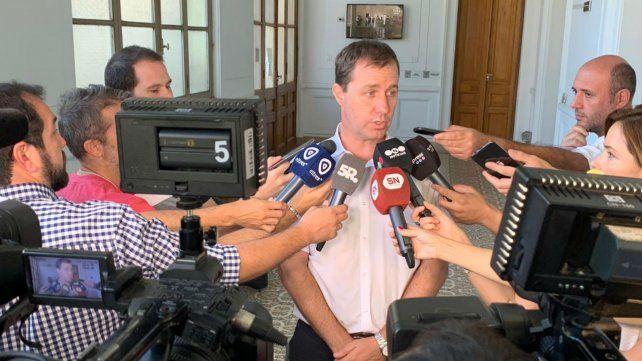 Maio brindó detalles esta mañana sobre el operativo para el partido en el Coloso.