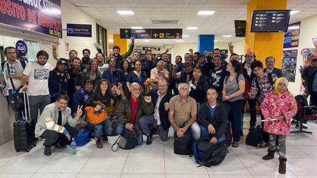 Monteverde viajó a Bolivia con Grabois y denunció amenazas