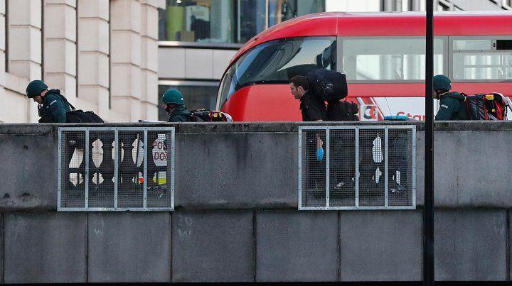 La policía británica mató al atacante del incidente terrorista en el puente de Londres
