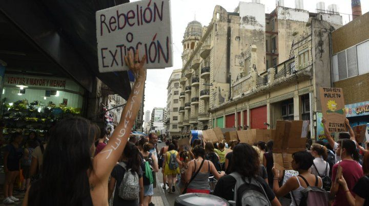 Rosario fue epicentro de una marcha global en defensa del medio ambiente