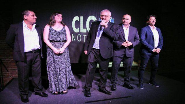 En Metropolitano. Botto destacó la solidaridad como valor