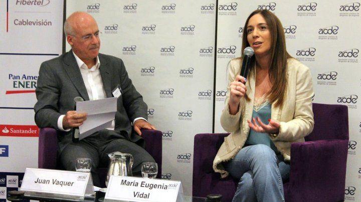Vidal destacó el lugar relevante de Cristina y valoró la transición con Kicillof