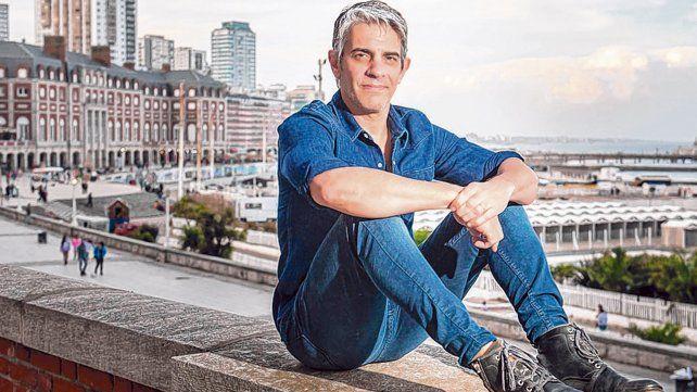 Mar de fondo. Pablo Echarri habló con La Capital en el Festival de Cine de Mar del Plata y elogió a Rosario.