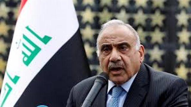 Adel Abdul Mahdi dimitió para aplacar a los manifestantes que exigen la completa renovación de la clase política.