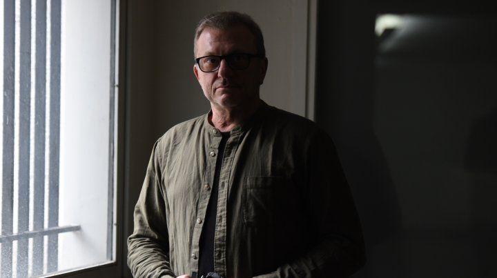 El reportero gráfico Gustavo Germano estuvo en Rosario para declarar en la caus Feced III.