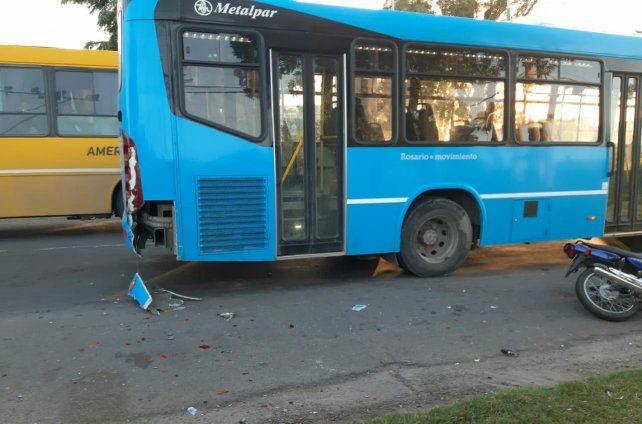La colisión se registró en avenida San Martín y Orsetti
