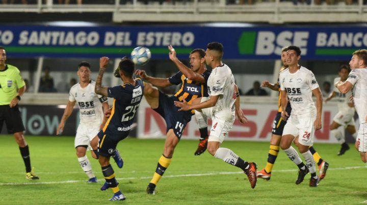 Central no armó juego y se trajo un punto desde Santiago del Estero