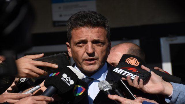 Sergio Massa será el nuevo presidente de la Cámara de Diputados.