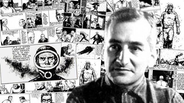 Héctor Oesterheld. Autor de la emblemática historieta El Eternauta.