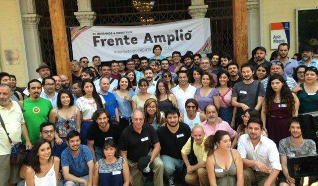 El Frente Amplio chileno.