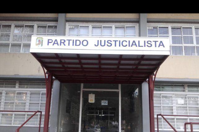 La sede del distrito Santa Fe del Partido Justicialista (PJ).