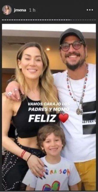 Jimena Barón feliz por el reencuentro con Daniel Osvaldo