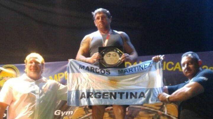 Procesan y liberan al campeón de levantamiento de pesas acusado de agredir a su pareja en Ushuaia