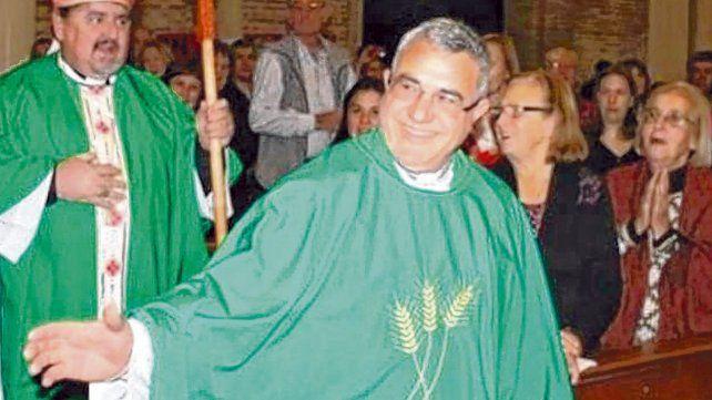 En ejercicio. Monzón era párroco de la comunidad María Madre de Dios y era vicepresidente de Cáritas.