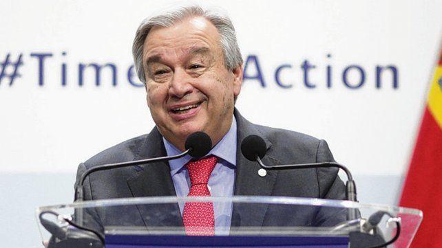 Guterres: El punto de no retorno está a la vista