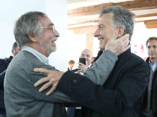 Macri se reunió con Brandoni en España.